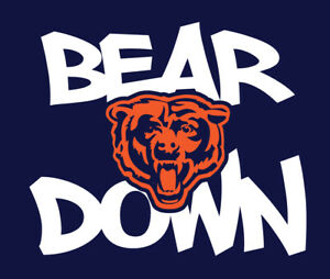 BEAR DOWN Chicago Bears shirt Dahn Justin Fields Allen Robinson no more Trubisky