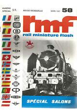 RMF N°5LES PACIFIC / MARKIN / FLEISCHAM / TRIX EXPRESS / PECO / RAPIDO / FALLER