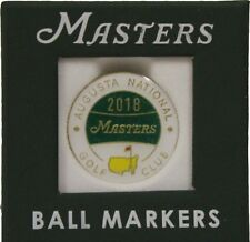 2018 Masters Ball Marker - New In Original Packaging