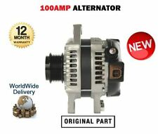 FOR TOYOTA AURIS COROLLA 1.4DT D4D 1ND-TV 2004--> NEW ALTERNATOR UNIT 100AMP