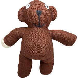 Licensed Mr Bean Teddy Bear Plush Toy Doll Brown 26cm Tiger Television 1998