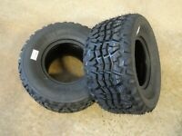 TWO 24X11-10 Air-Loc X-trail Tires 8 PLY replaces Dunlop KT869 24X11.00-10 Mule
