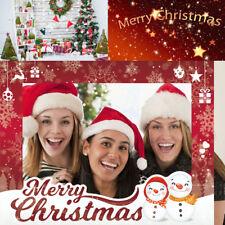 Photo Booth Picture Frame Props Navidad Baby Shower Decoración Suministros ES