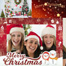 Cute Photo Booth Picture Frame Props Christmas Party Baby Shower Decor Supplies