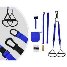 Kit d'Entraînement pour Fitness, Bleu, avec sangle
