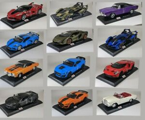 Maisto Special Edition Diecast 1:18 Scale Model Car New in box Multiple models