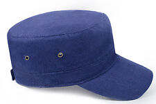 Euro Adult Military Army Cap Hat 100% Cotton - 3 Colours
