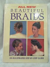 """""""All New Beautiful Braids"""" Step by Step Illustrated Guide Rambert-1992-HC Spiral"""