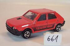 Majorette 1/53 Nr. 239 Fiat Ritmo Abarth 2000 Limousine rot Nr. 4 #661