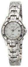 Seiko Women's Silver Tone Diamond Watch SXDA31