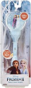 FROZEN 2 Sisters Musical Snow Wand Costume Prop Scepter, Plays Into The Unknown
