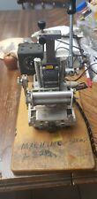 Kingsley KTM Hot Foil Embossing Machine