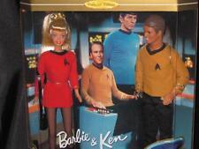 1996 Barbie and Ken Star Trek 30th Anniversary Giftset #15006 Nrfb
