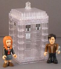 Doctor Who Micro Figures Tardis Dematerialising Mini Set Character Building NEW