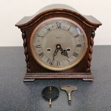 Stunning Enfield Chiming Mantle Clock with key and pendulum