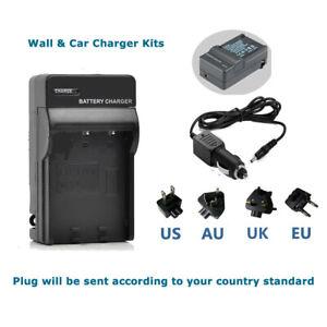 Battery Charger Panasonic Lumix Camera DMC-FH2 DMC-FH4 DMC-FH5 DMC-FH6 DMC-FH7
