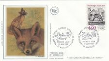 Francia 1988 FDC Animales Con Buffon yt