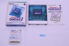 [Free track ship] Nintendo Super Gameboy Player 2 Super Famicom SNES GB GBC box