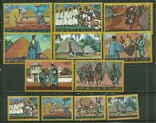 GUINEA 493-503, C100  HOMES AND PEOPLE OF GUINEA SCV 9.05