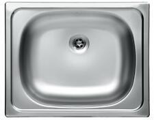 Edelstahl Küchenspüle Einbauspüle Küchen Spüle Spülbecken Waschbecken 40x50cm Z6