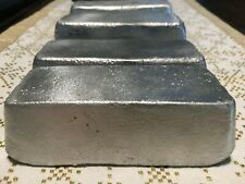 Aluminum Ingots Bars Hand Poured For Casting 81+ oz./5+ lbs.! Free Shipping
