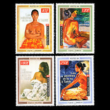 French Polynesia 1999 - Paintings by Artists Named Art - Sc 764/7 MNH