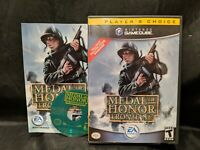 Medal of Honor: Frontline Player's Choice (Nintendo GameCube, 2004) complete