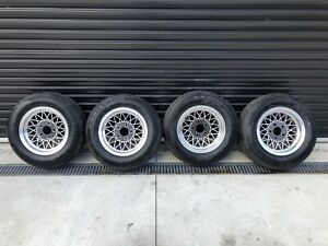 """13"""" HOLDEN TORANA HOTWIRES BRAND NEW TYRES AND NUTS"""