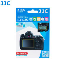 JJC 2PCS LCD Guard Film Camera Display Screen Protector for CANON EOS 6D Mark II