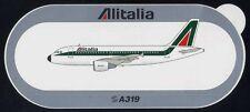 STICKER originale Airbus ALITALIA A319 319 - nuovo