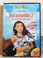 DVD Film dessin animé Pocahontas 2 - Un monde nouveau - Walt Disney
