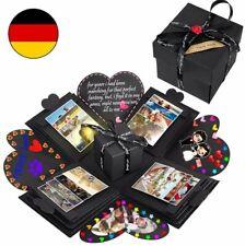 Überraschung Box Explosion Box DIY Geschenk Scrapbook Foto-Album für Geburtstag