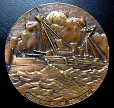"BRONZE MEDAL OF THE ""REINA REGENTE"" CRUISER SINKING ON MARCH 9th, 1895 N123"
