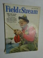 1955 FIELD & STREAM Magazine April Fly Fisherman