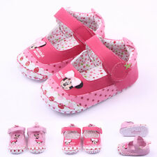 Pretty Baby Girls ~ Minnie Mouse ~ Rose Pink  Disney Summer Mary Jane Shoes