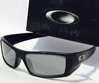 01353212aac NEW  OAKLEY GASCAN Matte BLACK w Black Iridium lens Sunglass  140 SAVE!