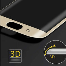 Samsung Galaxy S6 Edge Curved Tempered Glass 3D Screen Protector Transparent