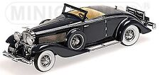 Duesenberg SJN Convertible Coupe 1936 bleu sombre First Class Collection 1:43