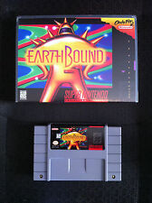 Earthbound - SNES Game Cartridge Reproduction  & Custom Case Super Nintendo Set
