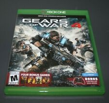 Xbox One Gears of War 4 Exclusive Skin Bonus Walmart Game Adult Owned Case Codes