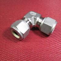 "SSP Griplok® 1/2"" x 1/2"" Tube OD ELBOW Union 90° Degree 316 Stainless Steel"
