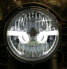 Crystal clear LED headlight head light  Yamaha XJ 600 SRX 600  'CE' 'E'
