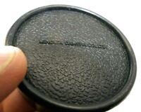 Minolta Camera Co LTD Slip on Rear Lens Cap Japan SR MC MD mount Genuine Vintage
