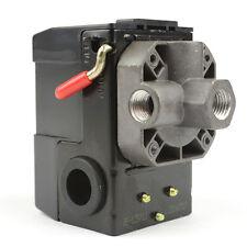 """Pressure Switch 1/4"""" FPT 4 Port Bend Lever 20 Amps Dewalt Makita Emglo - LF10-4H"""
