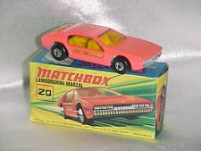 MATCHBOX LAMBORGHINI MARZAL #20 MINT WITH BOX