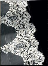 Neuf ! Exceptionnel ! Voile de mariée dentelle haut de gamme ivoire V15 - 1,50m