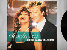 """12"""" Maxi Rod Stewart & Tina Turner , It Takes Two von 1990"""