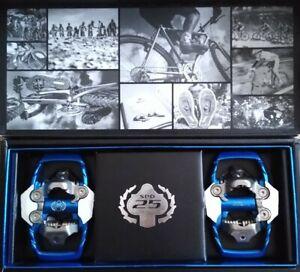RARE SHIMANO 25TH ANNIVERSARY BLUE XTR PD-M995 SPD TRAIL Clipless Pedals Mtb Xc