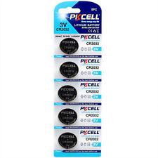 5x CR2032 DL2032 ECR2032 GPCR2032 3V Lithium Battery Batteries Button Coin Cell