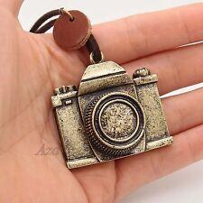 Camera Pendant Charm Necklace